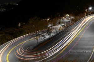 [台北.夜景拍攝] 新北方便的夜景熱門拍攝地點推薦 + 髮夾彎車軌拍攝技巧分享