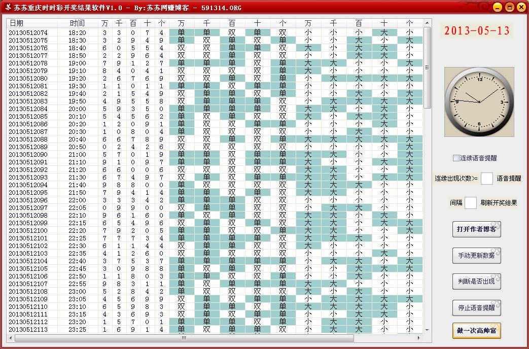苏苏重庆时时彩开奖结果软件1.0 绿色版-腾牛下载
