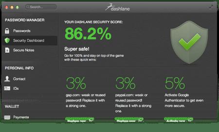 Dashlane2.25 绿色版_密码管理器