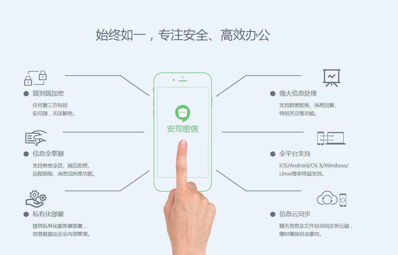 安司密信电脑版-安司密信官方版下载v1.0 最新版-腾牛下载