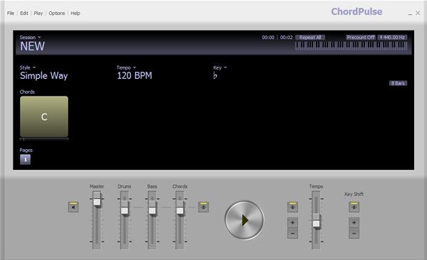 chordpulse中文破解版-Chordpulsev2.5 绿色版