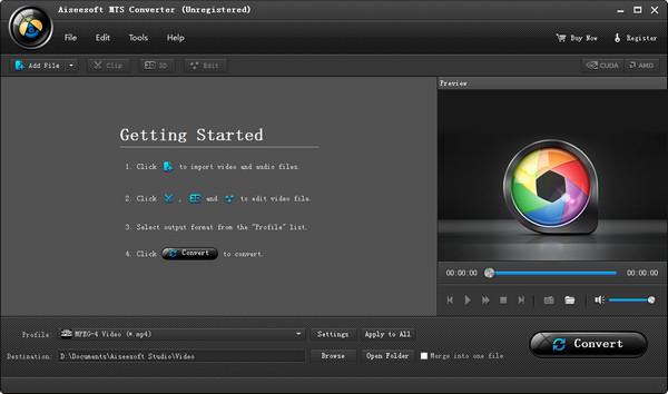 mts格式转换软件下载-Aiseesoft MTS Converterv9.2 免费版