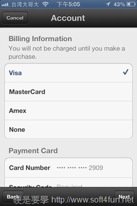 將台灣 Apple ID 改成其他國家,免重新申請 2013-07-13-17.05.02