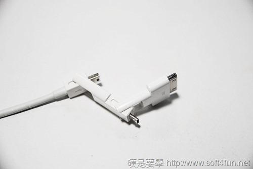 [評測] Magic Cable Trio 1條3用的傳輸/充電連接線(支援Mini USB、Micro USB、iPhone 4S) DSC_0069
