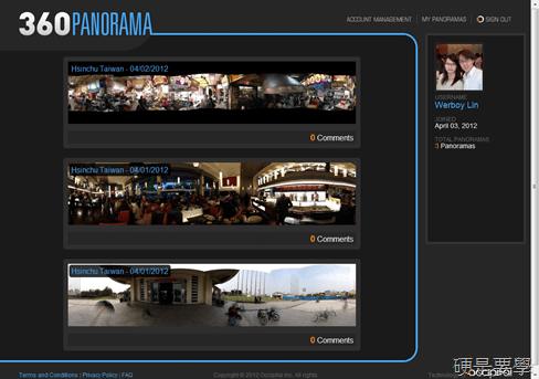[限時免費] 360度全景拍照 App:360 Panorama (iOS/Android) 360-panorama