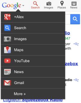原來 Google 消失的新導航欄可能改到行動裝置上 1