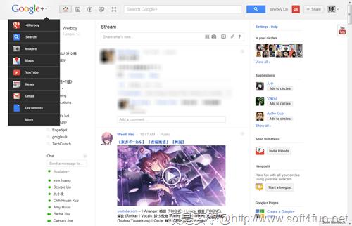 搶先體驗 Google 新介面,全新下拉式功能選單 google-03