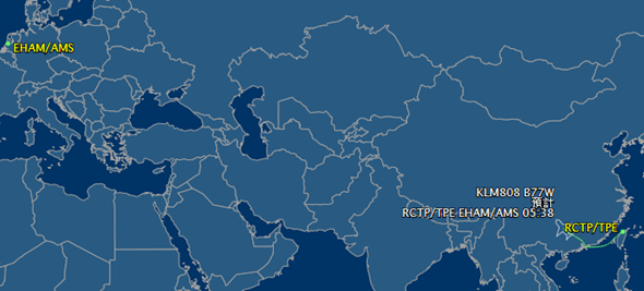 利用 Google 查詢飛機起降與飛行資訊 flightaware-2