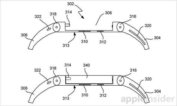 不叫 iWatch 了!蘋果新專利 iTime 曝光,遠比傳說中的 iWatch 強悍 iTime_2_3