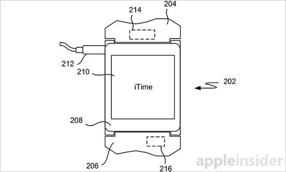 不叫 iWatch 了!蘋果新專利 iTime 曝光,遠比傳說中的 iWatch 強悍 iTime_3_3