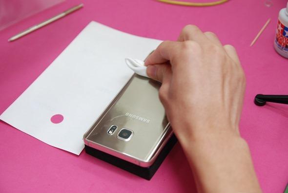 [手機包膜] Samsung Galaxy Note 5 保護貼摩斯密碼全機包膜全紀錄 DSC_0109