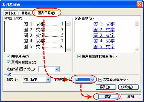[Word技巧] 簡簡單單讓Word自動「生」出目錄 - 圖表目錄篇 746229629_6b789ec21e