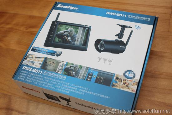超簡易安裝無線監視錄影機 SecuFirst DWS-B011(具防水、夜視功能) dws-b001-008