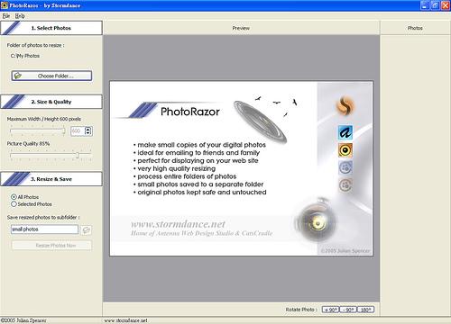 [圖像編輯] 可視化的圖片大小調整軟體 - PhotoRazor 334706420_469fbb44e9