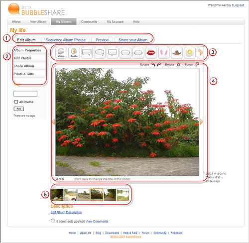 [網站推薦] 自己動手做SlideShow - BubbleShare 361409174_796def10ec
