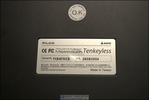FILCO Majestouch Tenkeyless 鍵盤 + DIY鍵帽 + 清潔組 DSC_0050