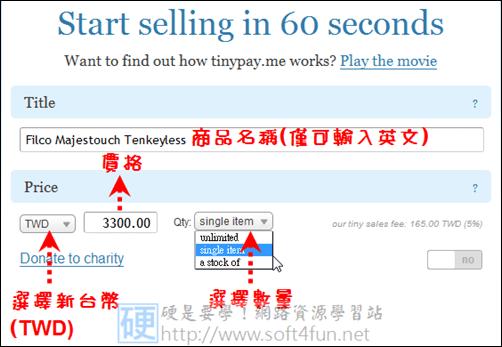 部落格變身網拍賣場,網路行銷 So Easy tinypay01