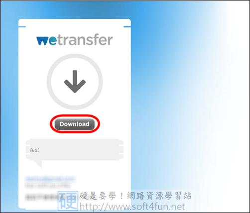 可批次傳輸大量檔案的免費空間,最高可上傳2GB wetransfer04