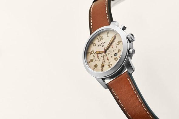 蒐錄10款2016年 CES 中不容錯過的科技新品 (一) fossil-smart-watch