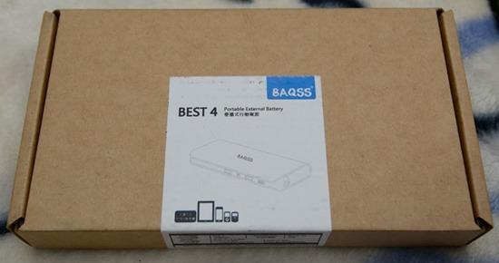 BAQSS BEST4 新改版10400mAh行動電源簡介及測試 01