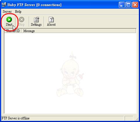[檔案工具] 3秒快速架好FTP - Baby FTP Server 2127735963_220d6fa140
