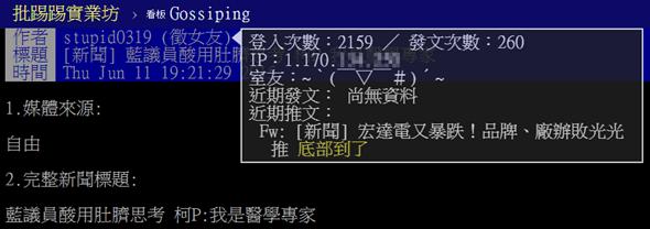 ptt 鄉民查水表2