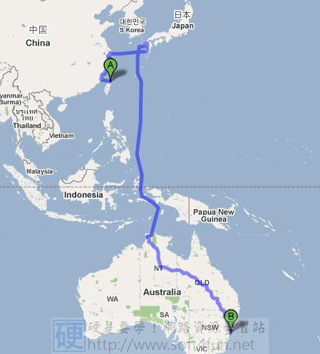 GoogleMap也有航海圖!台灣到澳洲不用搭飛機! 4017369594_87f7123412