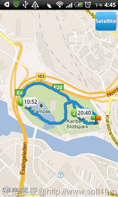 [Android] 推薦4款 GPS 應用工具(景點打卡、到站通知、運動里程計算、附近ATM查詢) runstar-024_thumb