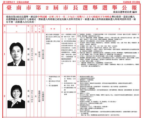 103年九合一選舉公報線上看,11/29 回家投票! 3