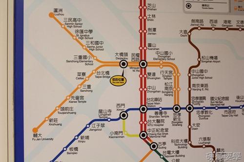 捷運新莊線通車試乘心得,全線7站走透透 IMG_1917