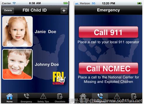 【硬站午報】電信業者開辦 Facebook 簡訊服務、iPad 水貨商新招,飛線進貨法、FBI 推出第一款兒童協尋 APP(20110809) child-ID