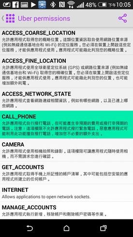 F-Secure Permission:最強 APP 無所遁形術,揪出藏匿的可疑程式(Android) 2014-08-27-14.05.08