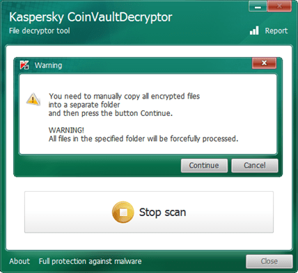 電腦勒索檔案全加密!?Kaspersky CoinVaultDecryptor 給你一線生機 img-22_3