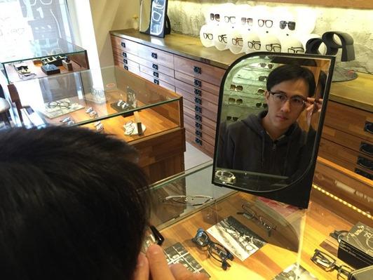 濾藍光眼鏡配鏡推薦:光明分子的眼鏡世界 MOSCOT120