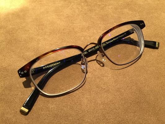 濾藍光眼鏡配鏡推薦:光明分子的眼鏡世界 MOSCOT142