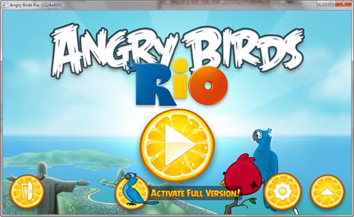憤怒鳥:里約大冒險(Angry Birds:Rio)PC版出爐! -Angry-Birds-Rio-PC-01