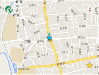[iOS 8 小工具] Pinow 免解鎖快速定位位置資訊與地圖 2014120817.23.4213