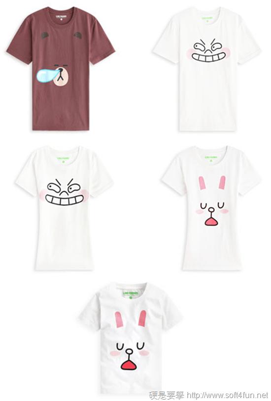 官方授權 LINE Friends 熊大、兔兔 T恤在 lativ 開賣啦! LINE-T