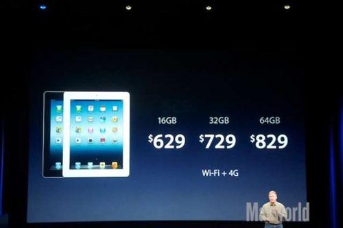 「The new iPad」規格總整理,16日正式開賣 price