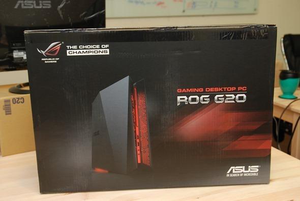 極致小體積,專屬於電競玩家的電競桌機 ASUS ROG G20 開箱評測 DSC_0065