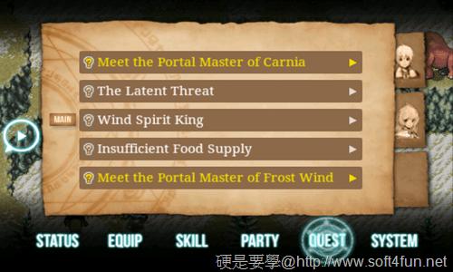 [Android遊戲] iOS 移植強檔大作:Inotia 3: Children of Cania 官方中文版[update] quest