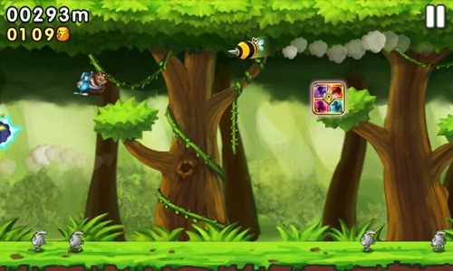 [Android遊戲] 森林跑跑熊:iOS移植的殺時間耐玩遊戲 -03