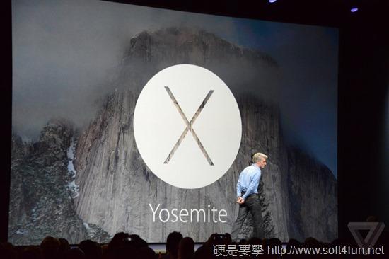 Apple 發布新 OS X Yousemite,全面採用扁平化設計 DSC_0814