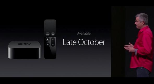 終於發表:Apple TV 搭載全新 TV OS 可裝遊戲、支援Siri、體感遊戲,Wii 囧了 apple-event-071