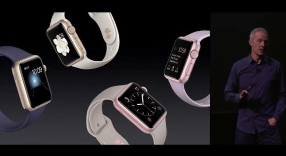新色彩:Apple Watch 新推出金色與玫瑰金款 apple-event-016