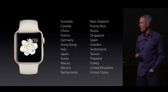 新色彩:Apple Watch 新推出金色與玫瑰金款 apple-event-017