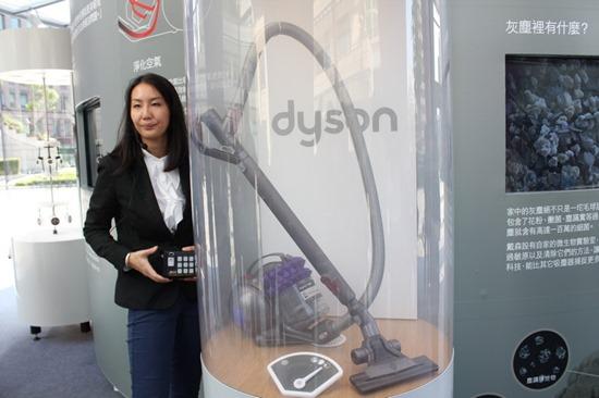 免更換濾網,Dyson 推出 Dyson Cinetic™ DC52 dysondc5236