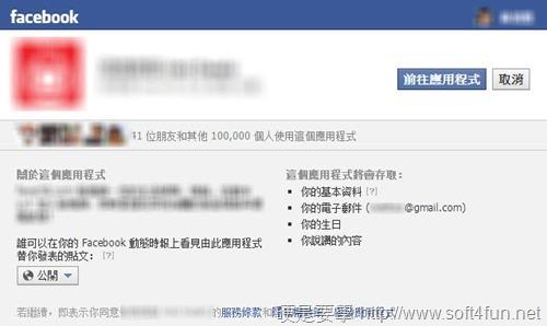 fb應用程式授權