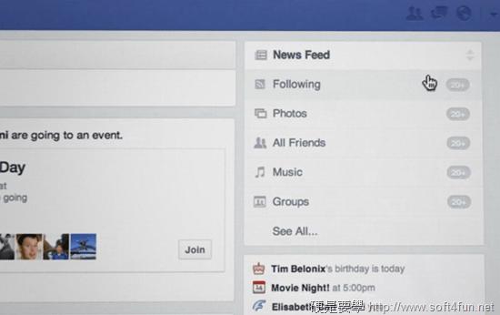 Facebook 發佈新介面強調簡潔不雜亂,開放登記 facebook01