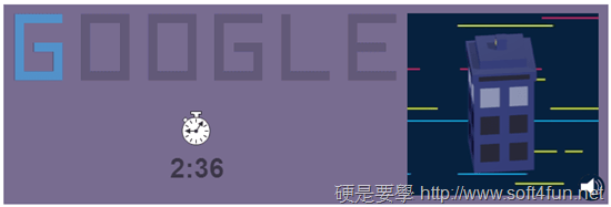 Google 首頁塗鴉:Doctor Who 英國科幻電視影集上映50週年 doctor-who-05